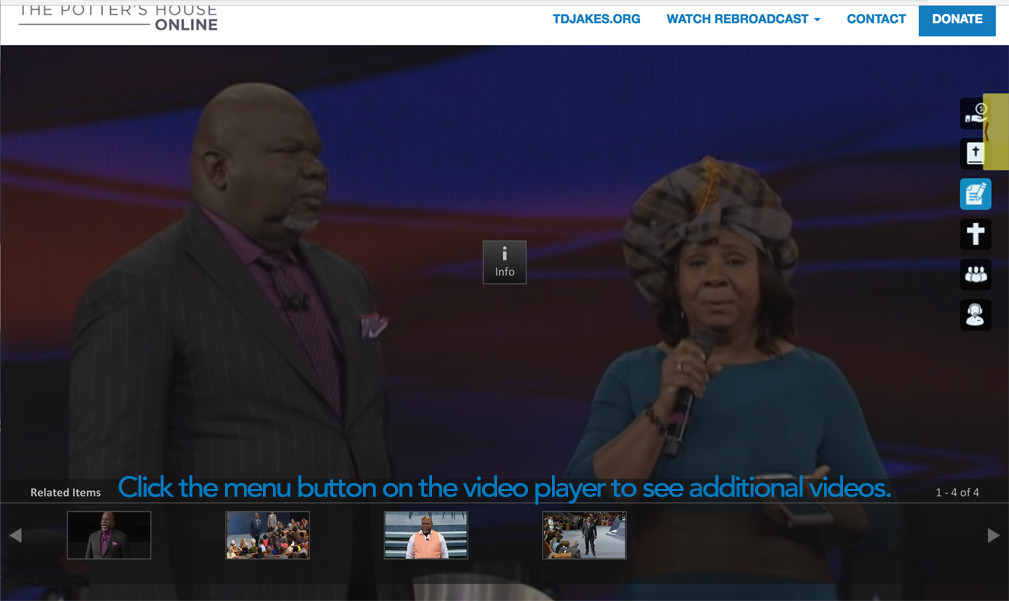 The Potter S House Live Streaming