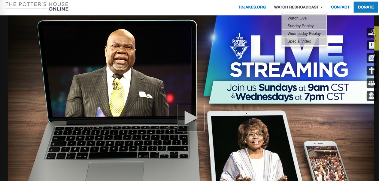 The Potter's House Live Streaming