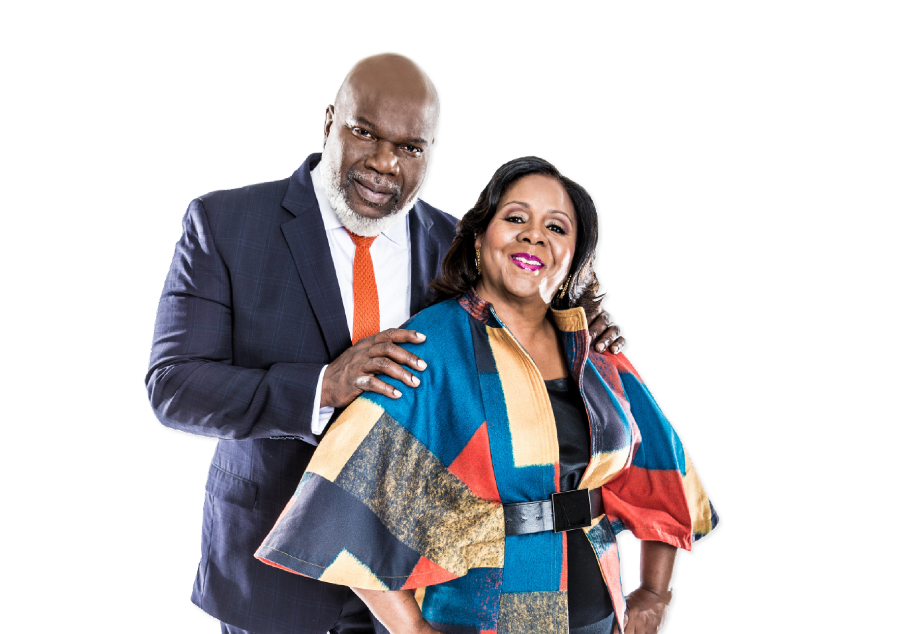 Bishop TD Jakes and First Lady Serita Jakes