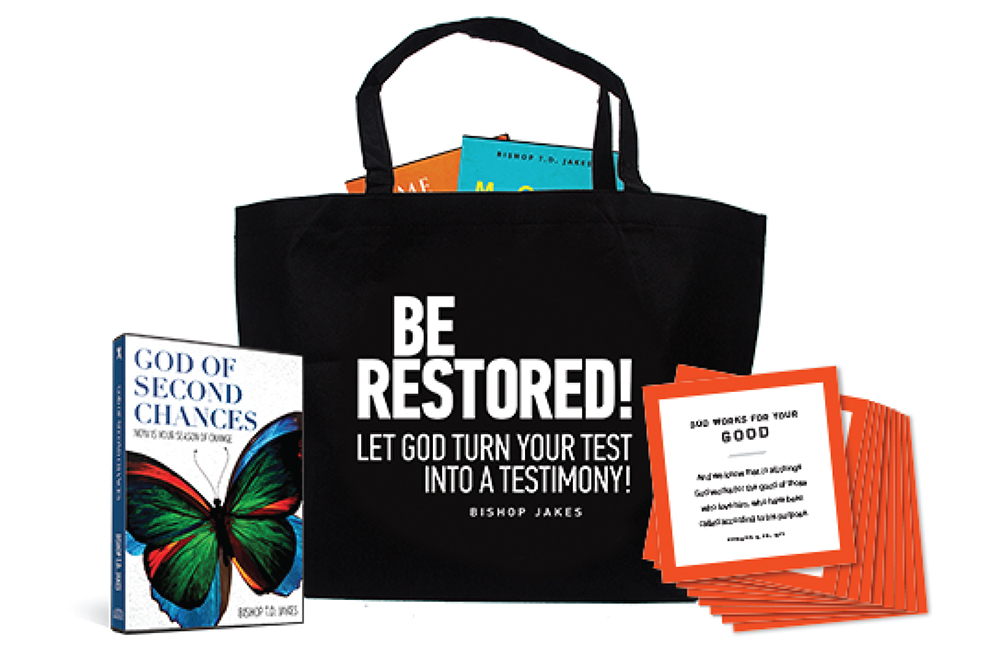 TD Jakes Ministries - Be Restored!
